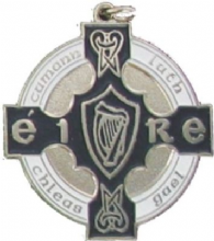 Silver & Navy 34mm GAA Medal